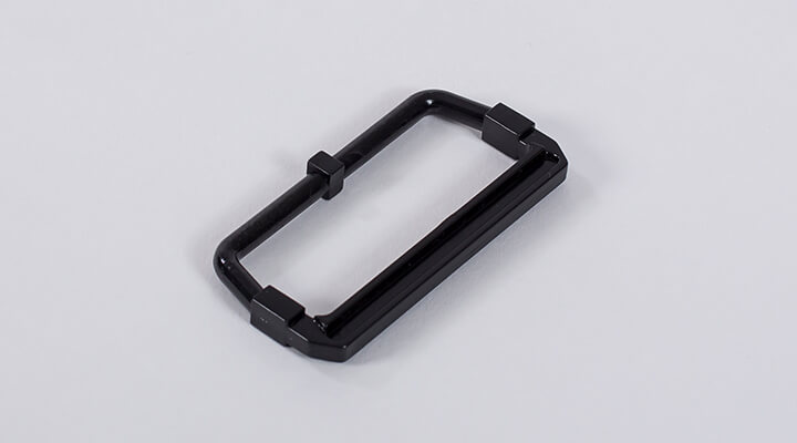 Lid handles made of Macrolon (PC) black